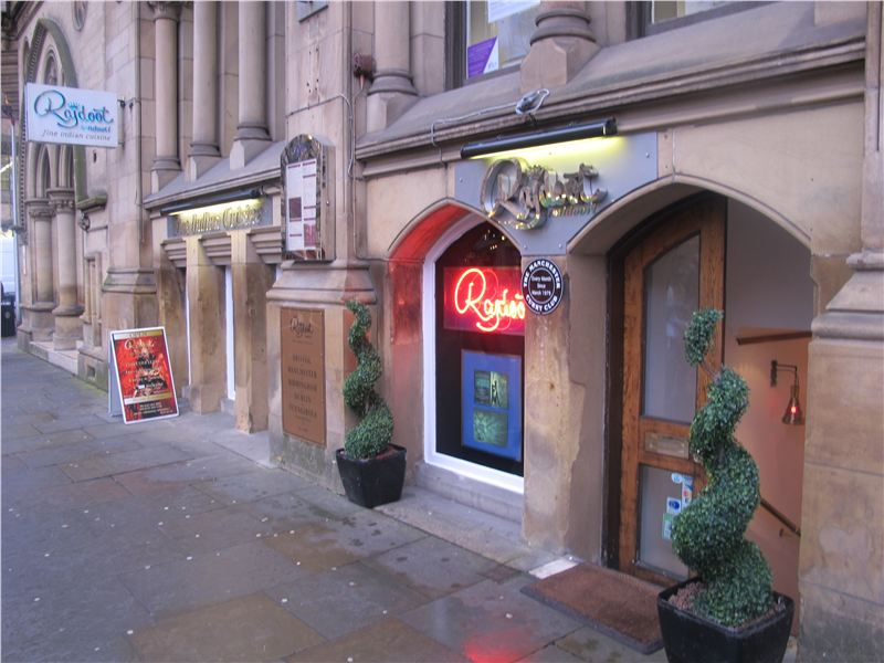 one of Manchester First Indian Restaurant