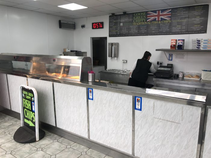 Wigan traditional fish and chip shop for sale