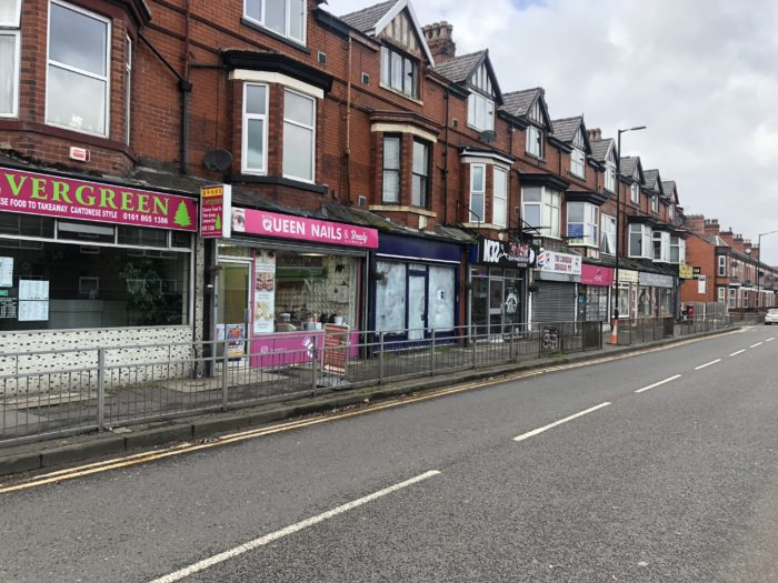 Stretford Empty Shop LET