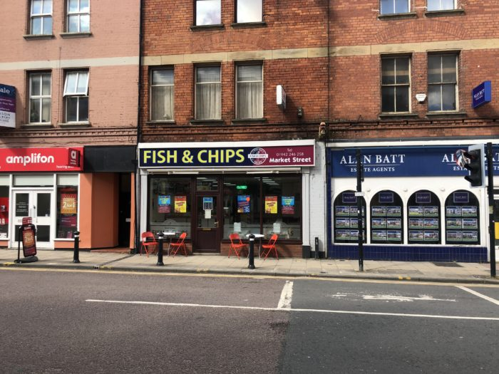 Fish and chip shop for sale Wigan