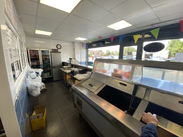 Bury fish and chip shop for sale