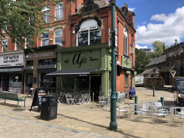 cafe in Eccles for sale