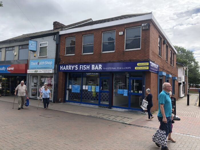 Traditional fish & chip shop for sale