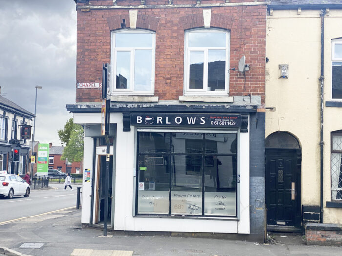 Oldham cafe for sale